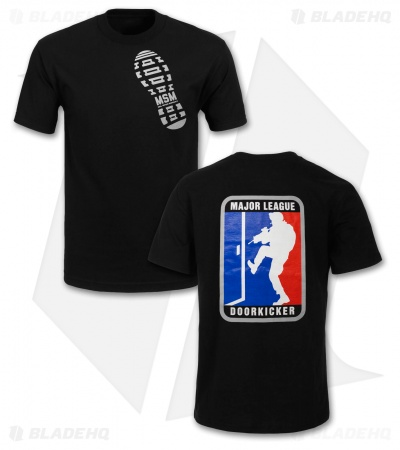 MSM MLD Major League Doorkicker T-Shirt (Black)