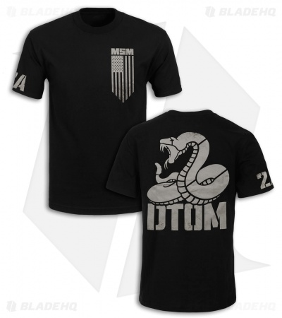 MSM DTOM II Don't Tread T-Shirt (Black)