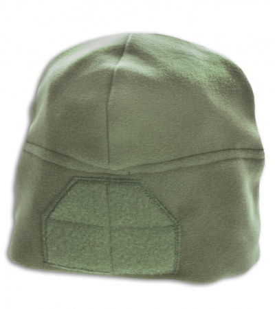 MSM Fleece Watch Cap + Loop Field (Foliage Green)