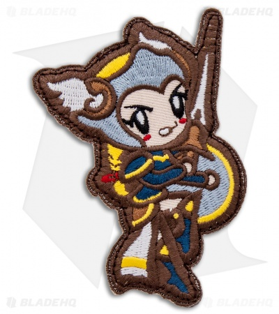 MSM Cute Valkyrie Hook Velcro Back Patch (Full Color)