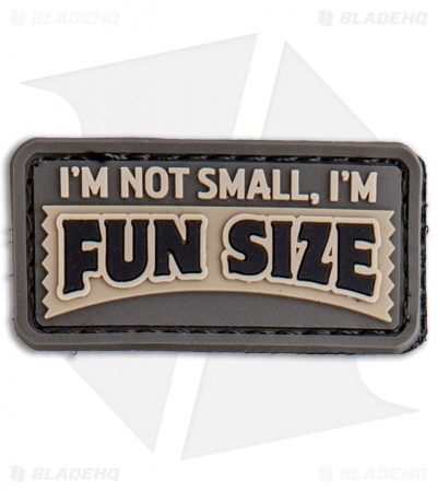 MSM Fun Size PVC Hook Velcro Back Patch (ACU)