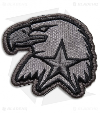 MSM Eagle Star EMB Velcro Back Patch (Urban)