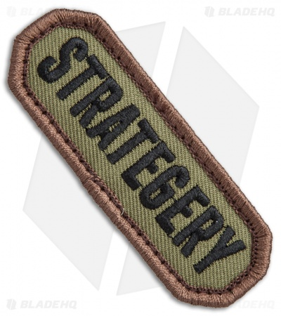 "MSM ""Strategery"" Patch Hook Velcro Back (Forest)"