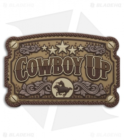 MSM Cowboy Up PVC Patch (Desert)