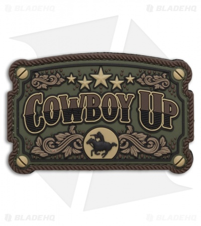 MSM Cowboy Up PVC Patch (Forest)