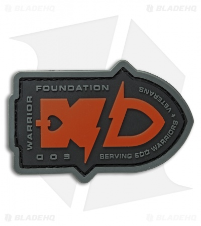 MSM EOD Warrior Foundation PVC Patch (Full Color)