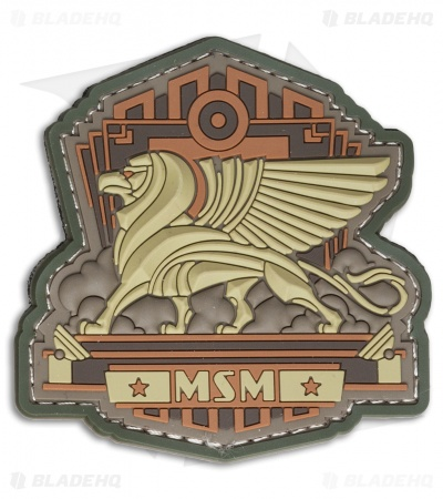 MSM Industrial Griffin PVC Patch (Arid)