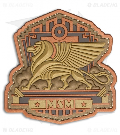 MSM Industrial Griffin PVC Patch (Bronze)