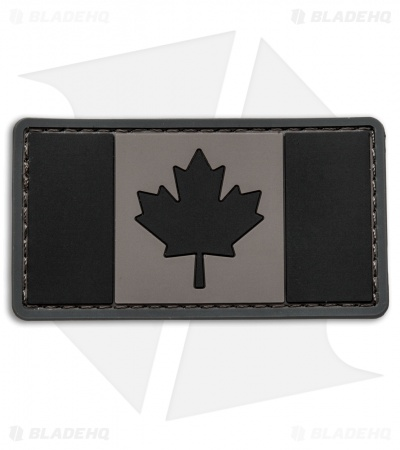 MSM Canadian Flag PVC Patch Hook Velcro Back (Urban)