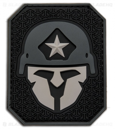 MSM Modern Spartan Large PVC Patch Hook Velcro Back (Urban)
