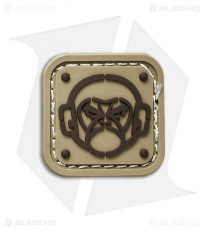 MSM Monkey Stencil PVC Patch (Desert)