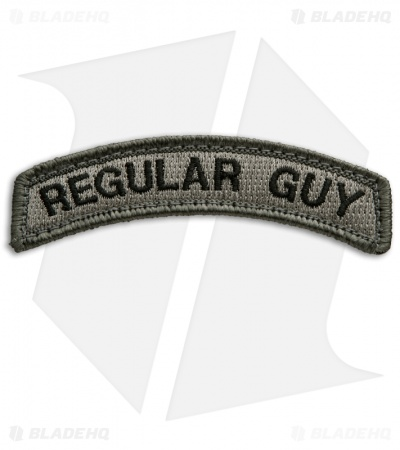 MSM Regular Guy Patch Hook Velcro Back (ACU-Dark)