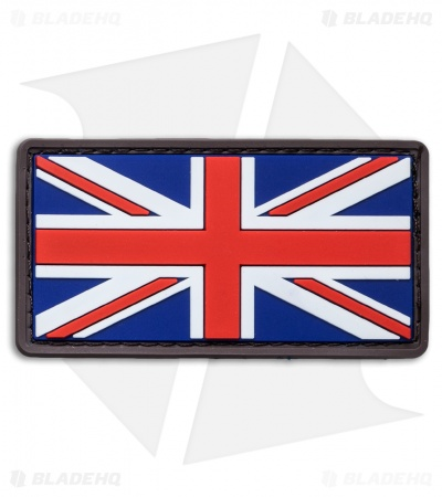 "MSM 3"" x 1.6"" British Flag PVC Patch (Full Color)"