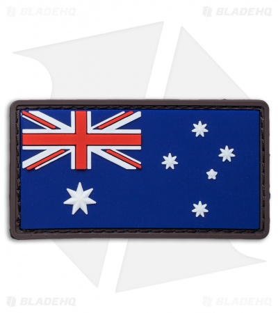 "MSM 3"" x 1.6"" Australian Flag PVC Patch (Full Color)"