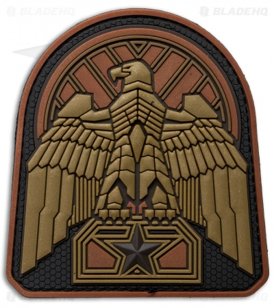 MSM Industrial Eagle PVC Patch (Bronze)