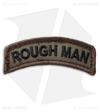 MSM Rough Man Hook Back Velcro Patch (Forest)