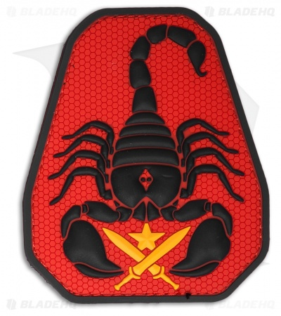 "MSM 3.1"" x 3.75"" Scorpion Unit PVC Patch (Full Color)"