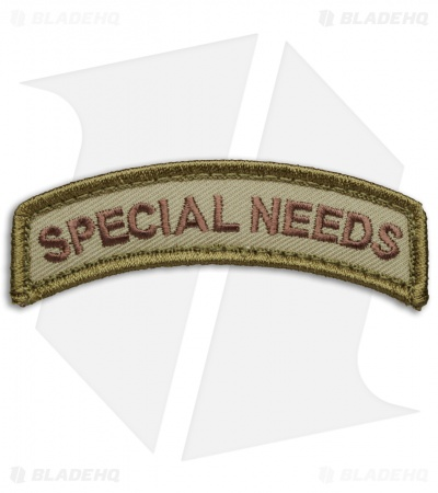 MSM  Special Needs Tab Patch Hook Velcro Back (Multicam)