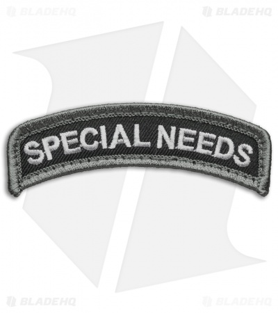 MSM  Special Needs Tab Patch Hook Velcro Back (Urban)