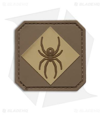 MSM Redback One PVC Hook Velcro Back Patch (Desert)