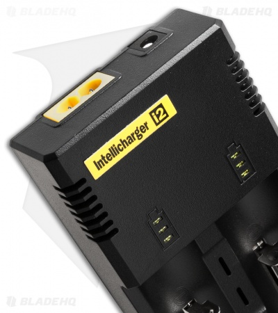 Nitecore Intellicharge i2 Universal Automatic Battery Smart-Charger