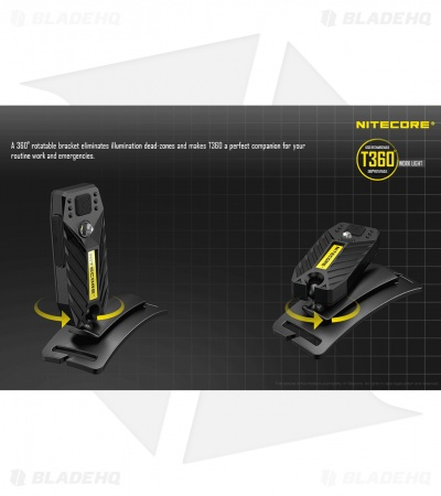 Nitecore T360 Rotatable Headlamp Flashlight (45 Lumens)