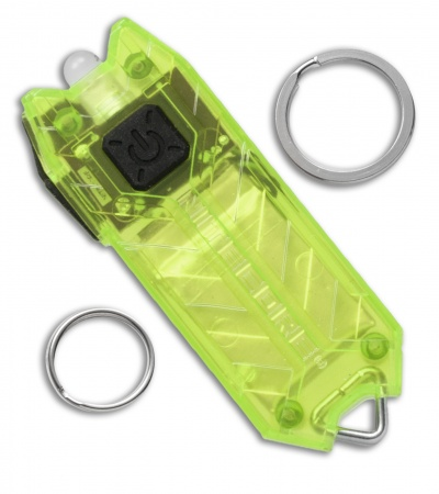 Nitecore TUBE Green Tiny USB Rechargeable Keychain Light (45 Lumens)