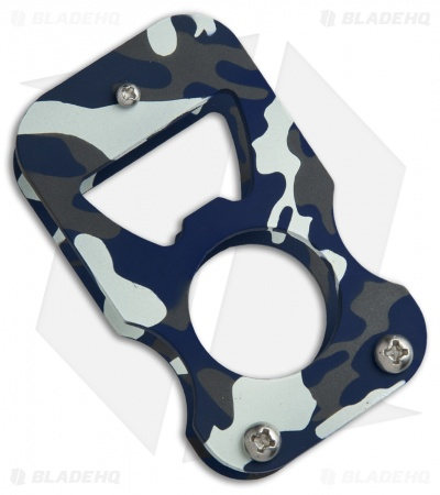 North Shore Kustoms NSK Malarkey Bottle Opener - Blue Multi-Cam