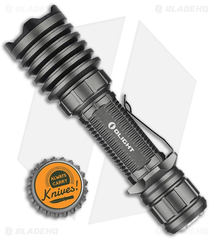 Olight Warrior X Pro Flashlight Limited Edtion Gunmetal ...