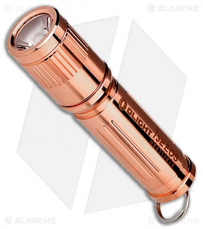 Olight i3E EOS Mono-Output Flashlight Luxeon TX LED Copper (120 Lumens)