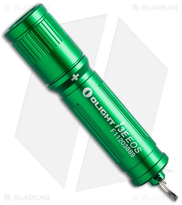 Olight i3E EOS Mono-Output Flashlight Luxeon LED Green (90