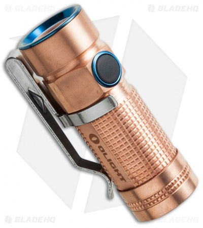 Olight S1-Cu Baton Raw Copper Flashlight Cree XM-L2 LED (500 Lumens)