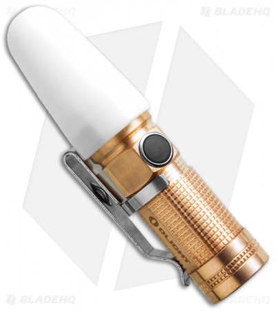 Olight S1-Cu Baton Rose Gold Copper Flashlight Cree XM-L2 LED (500 Lumens)