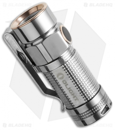 Olight S1-Ti Baton Polished Titanium Flashlight Cree XM-L2 LED (480 Lumens)