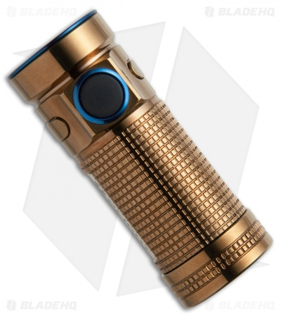 Olight SMINI Rose Gold Baton Copper Flashlight Cree XM-L2 LED (550 Lumens)
