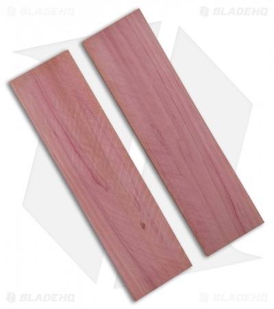 "Payne Bros. Cedar Wood Handle Scale Set (5.5"" x 1.5"" x 0.25"")"