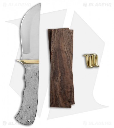 "Payne Bros Knife Kit LG Skinner/Walnut (4.375"" Satin)"