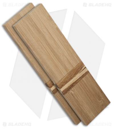 "Payne Bros. Bamboo Handle Scale Set (5.5"" x 1.5"" x 0.25"")"