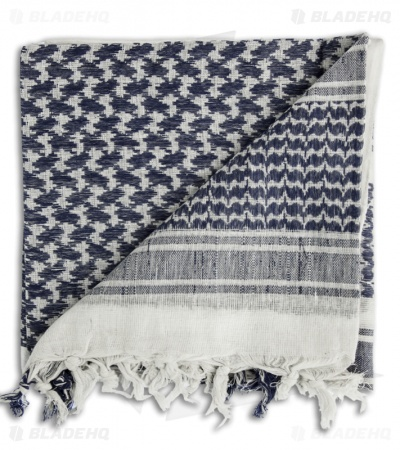 Camcon Shemagh Head Scarf (Blue/White)