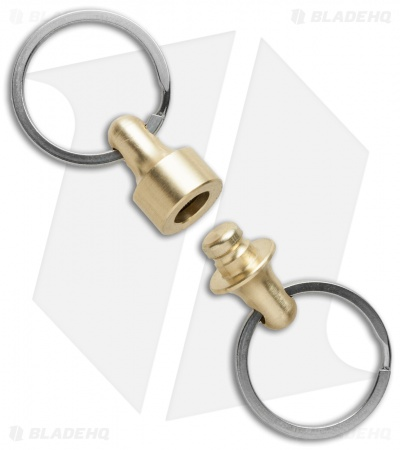 Prometheus Kappa QR Quick Release Keychain System - Brass