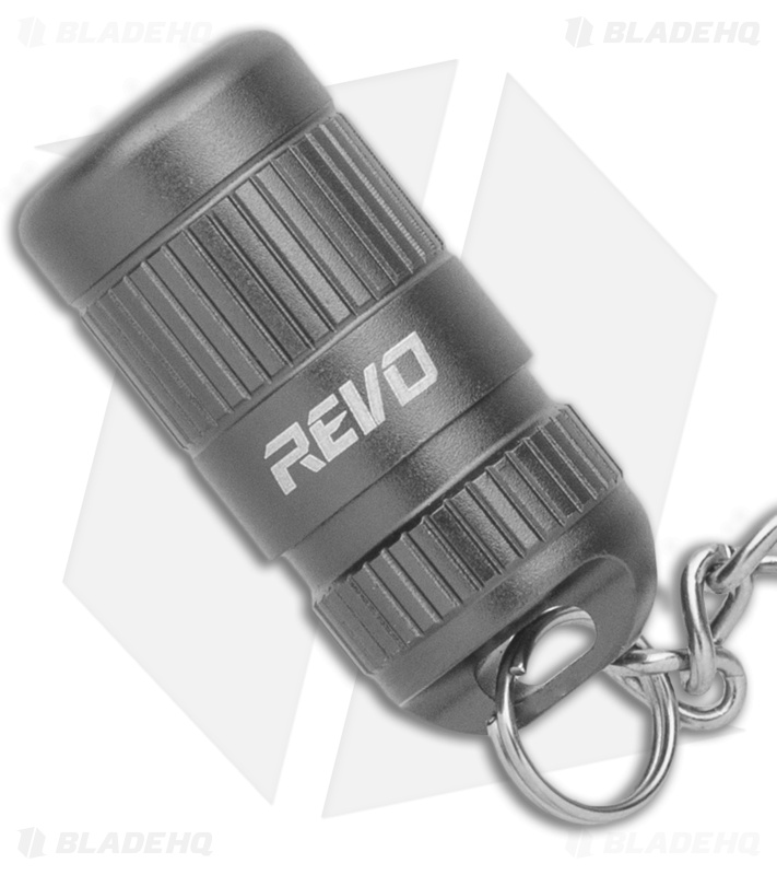 REVO Ready Light Micro LED Flashlight Gray (100 Lumens)