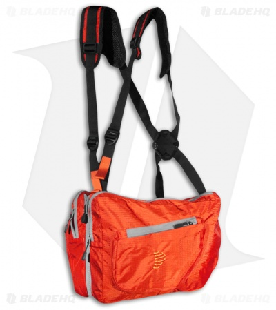 Ribz Alpenglow Orange Front Pack (Large) ORN-L-1122