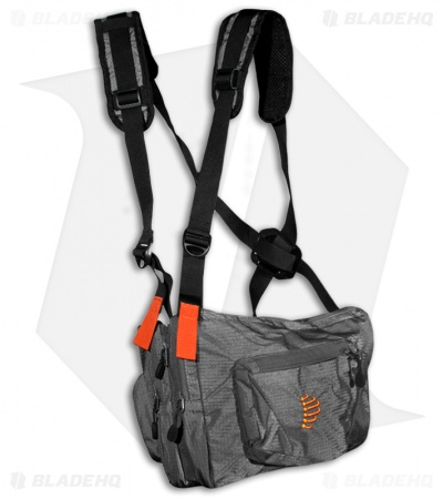 Ribz Granite Grey Front Pack (Small) GRY-S-1111