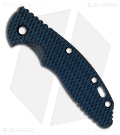 "Hinderer Knives 3.5"" XM-18 Blue/Black G10 Replacement Scale"
