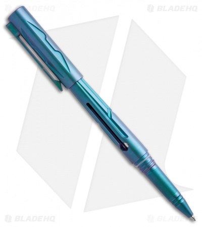 Rike Knife Titanium Tactical Pen - Blue