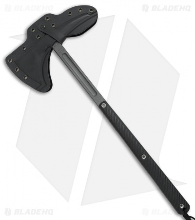 "RMJ Tactical Eagle Talon 18"" Tomahawk Axe Black G-10 (Tungsten Cerakote)"