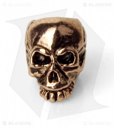 Schmuckatelli Joe Skull Lanyard Bead (Antique Copper)