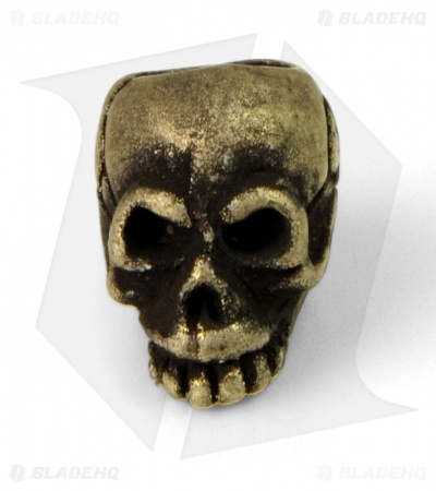 Schmuckatelli Joe Skull Lanyard Bead (Roman Brass Oxidized)