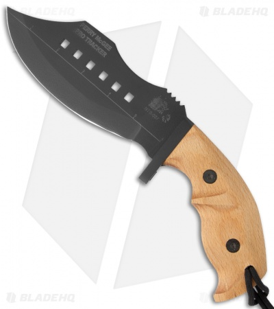 "Scorpion Knives Perry McGee Pro Tracker PT-2 Fixed Blade Knife (6.25"" Black)"