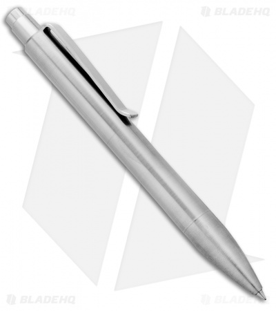 Tactile Turn Shaker Machined Pen - Raw Aluminum